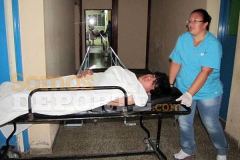 Un tifoso del Guemes colpito da uno sparo arriva in ospedale