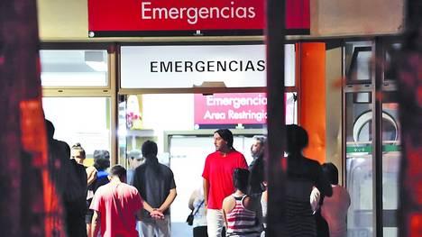 Il pronto soccorso dell'Ospedale di San Fernando