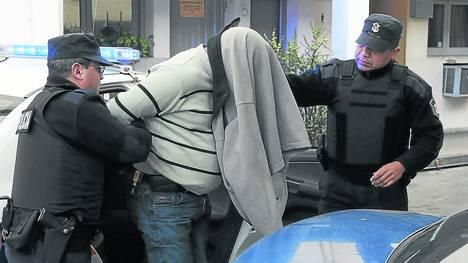 "Walter ""Osito"" Meniz arrestato allo stadio del UAI"