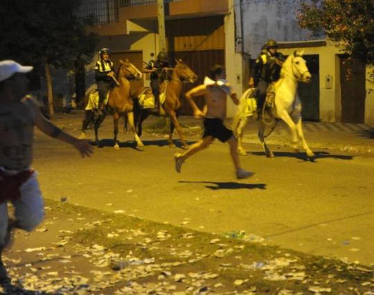 Violenza per le strade di Barrio El Bosque